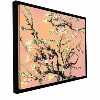 Eggshell Almond Blossom Canvas Art by Vincent Van Gogh by ArtWall