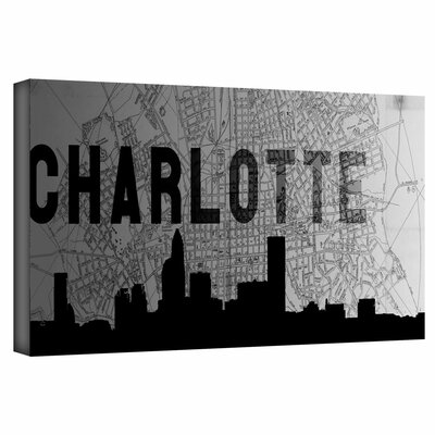 'Charlotte' by Art Sandcraft Graphic Art Gallery-Wrapped Canvas Art by ArtWall