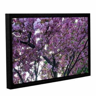 Spring Flowers by Dan Wilson Gallery-Wrapped Floater-Framed Canvas by ArtWall