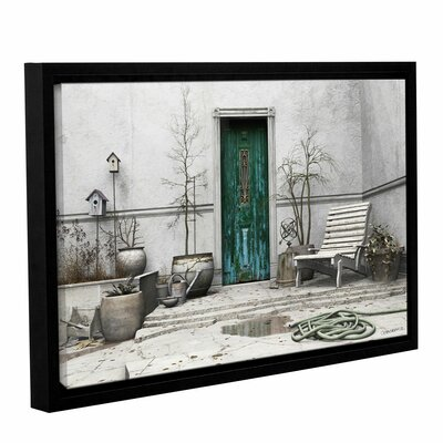 Winter Garden by Cynthia Decker Gallery-Wrapped Floater-Framed Canvas by ArtWall