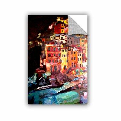 ArtApeelz Magic Cinque Terre Night Riomaggiore by Marcus/Martina Bleichner Painting Print on ...
