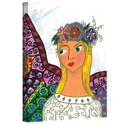 ArtWall ''Angel Ellen'' by Debra Purcell Painting Print on Canvas