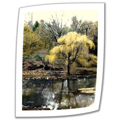 'Spring, Central Park' by Linda Parker Photographic Print on Canvas by ArtWall
