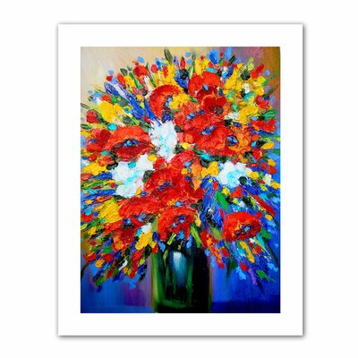 ArtWall 'Happy Foral' by Susi Franco Painting Print on Canvas