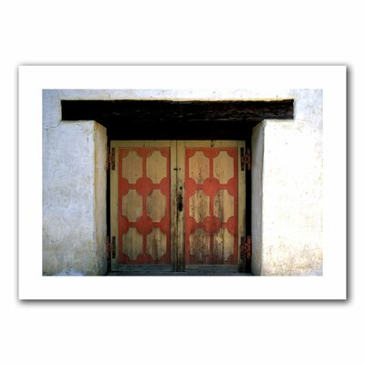 ArtWall 'Mission Door' by Kathy Yates Photographic Print on Canvas