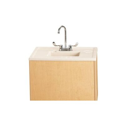 """Jonti-Craft Portable Sink 28"""" x 23.5"""" Single Wave Clean Hands Helper with Faucet"""