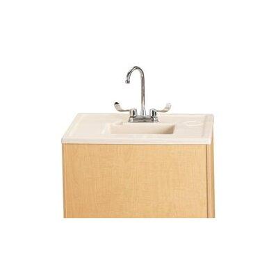 "Jonti-Craft Portable Sink 28"" x 23.5"" Single Wave Clean Hands Helper"