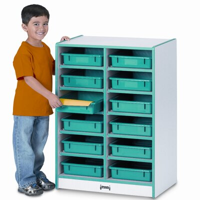 Jonti-Craft Paper-Tray 12 Compartment Cubby