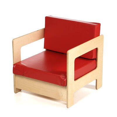 Jonti-Craft Red Easy Kid's Chair