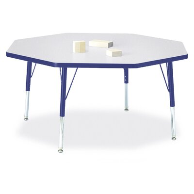 "Jonti-Craft Rainbow Accents 48"" Octagon Classroom Table"