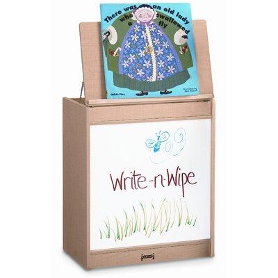 Jonti-Craft Write-N-Wipe Big Book Easel