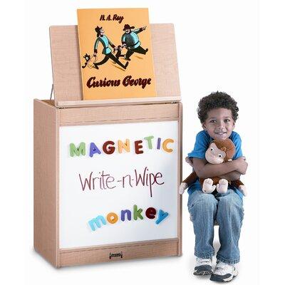 Jonti-Craft Magnetic Write-N-Wipe Big Book Easel