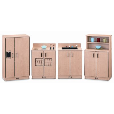 Jonti-Craft 4 Piece Laminate Kitchen Set