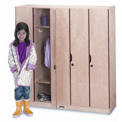 Jonti-Craft 5-Section Locker