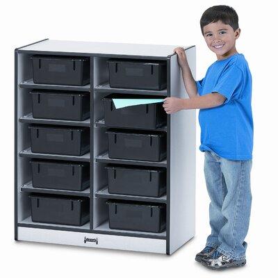 Jonti-Craft Tub Single Storage 10 Compartment Cubby
