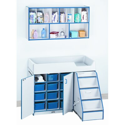 Jonti-Craft Right Diaper Changer with Stairs