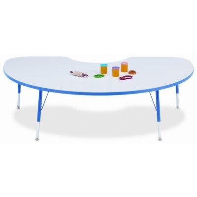 """Jonti-Craft KYDZ 72"""" x 48"""" Kidney Classroom Table"""