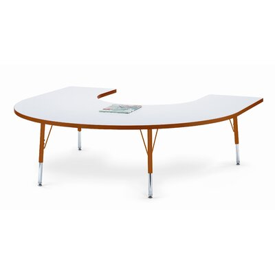 "Jonti-Craft KYDZ 66"" x 60"" Kidney Classroom Table"