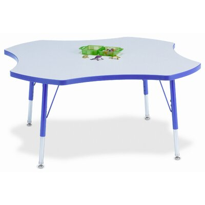 "Jonti-Craft KYDZ 48"" Four Leaf Classroom Table"