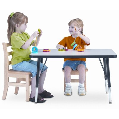 Jonti-Craft KYDZ Rectangular Classroom Table
