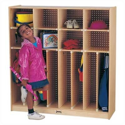 Jonti-Craft 3 Tier 4 Wide Neat-n-Trim Locker