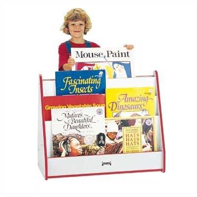 Jonti-Craft Rainbow Accents Sided Big Book Pick-a-Book Stand