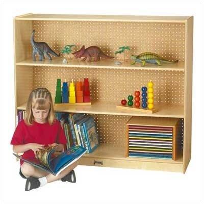 Jonti-Craft Mega Straight Single Shelf Unit