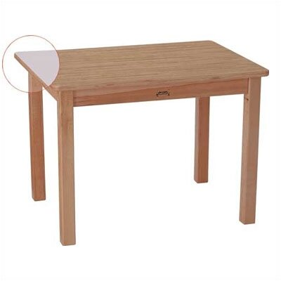 "Jonti-Craft MapleWave 30"" x 22"" Rectangular Classroom Table"