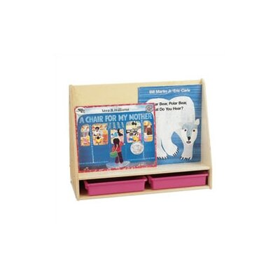Jonti-Craft Small 2 Sided Mobile Pick-a-Book Stand