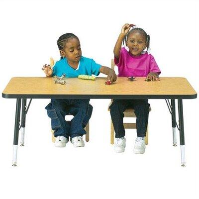 "Jonti-Craft KYDZ 60"" x 30"" Rectangular Classroom Table"
