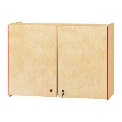 Jonti-Craft KYDZ Rectangular Lockable Wall Cabinet