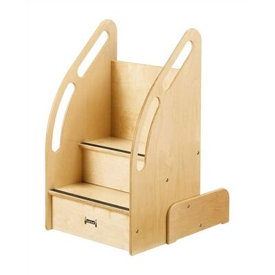 Jonti-Craft KYDZ Suite 2-Step Baltic Wood Up-n-Down Children's Step Stool