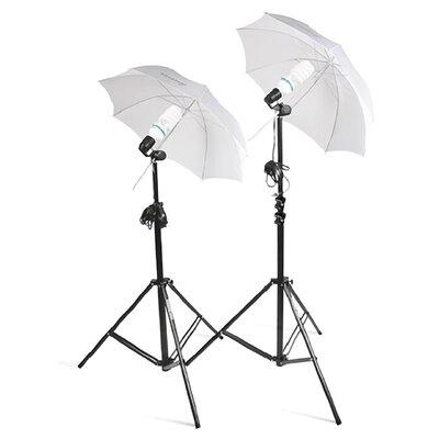 Square Perfect 2 Photo Studio Lighting Umbrella Stand Photography Light Kit