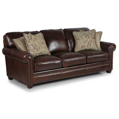 Simon Li Burke Leather Sofa Amp Reviews Wayfair