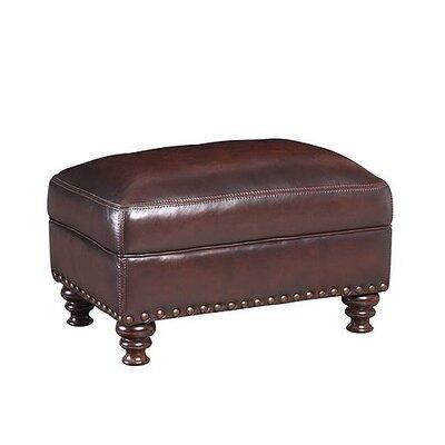 Prescott Leather Ottoman by Simon Li