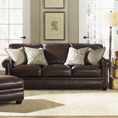 Burke Leather Sofa by Simon Li