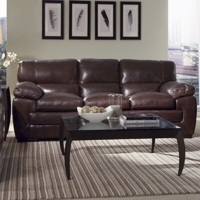 Simon Li SIML1117 Biscayne Leather Sofa