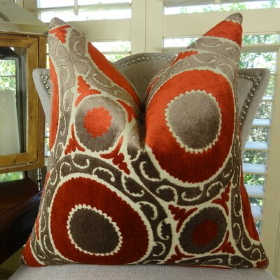 Pomegranate Throw Pillow by Plutus Brands