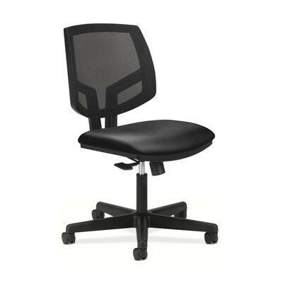 HON Volt Leather Task Chair with Center Tilt