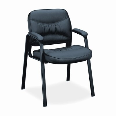 HON Basyx Leather Guest Chair