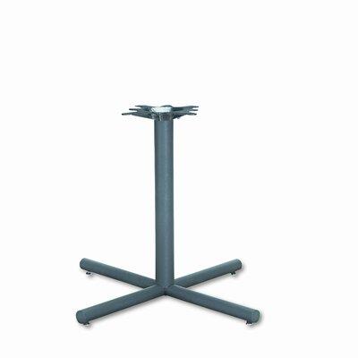 HON Single Column Steel Base, 36w x 36d x 27-7/8h, Black