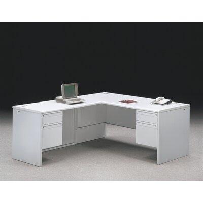 HON 38000 Series Pedestal Office Desk Return