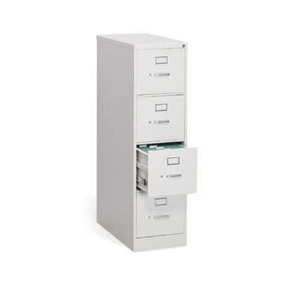 "HON 310 Series 15""W 4-Drawer Letter File"