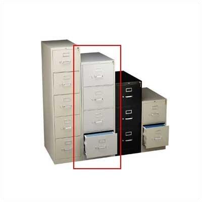 "HON 310 Series 18.24""W 4-Drawer Legal File"