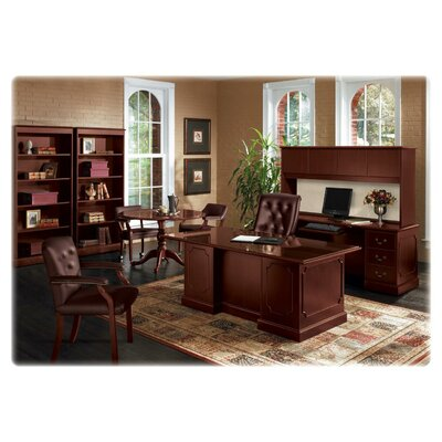 HON 94000 Series Executive Desk with 2 Box and 2 File Drawers