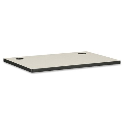 "HON Worksurface, w/ 2 Cord Grommets, 36""x24""x1-1/8"""