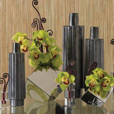 Ribbed Bottle Vase by Global Views