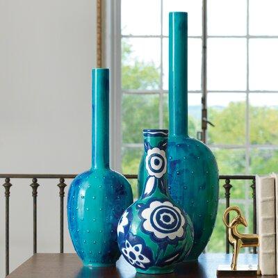 Painted Gourd Vase by Global Views