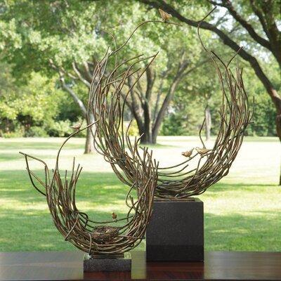 Bird's Nest-Verdi Figurine by Global Views