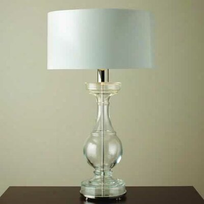 "Global Views Balustrade 39.75"" H Table Lamp with Drum Shade"